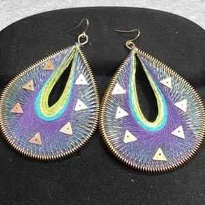 Huge Hoop Style Earrings